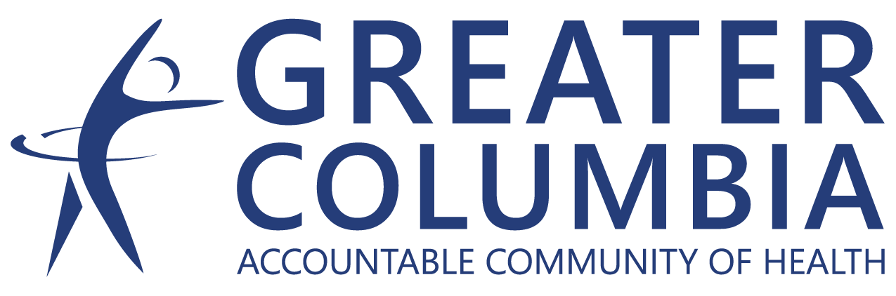 GCACH Logo - Full Title - Blue